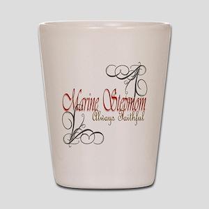 Swirl Stepmom Shot Glass