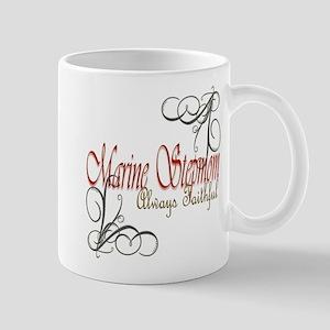 Swirl Stepmom 11 Oz Ceramic Mug Mugs