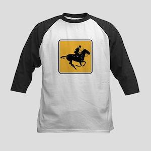 Actualitee Horse Kids Baseball Jersey