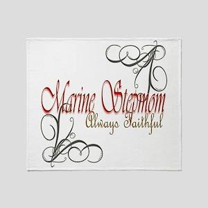 Swirl Stepmom Throw Blanket