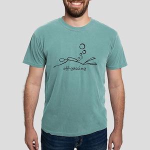 Off-Gassing Cartoon Scuba Diver T-Shirt