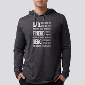 Dad Hero Long Sleeve T-Shirt