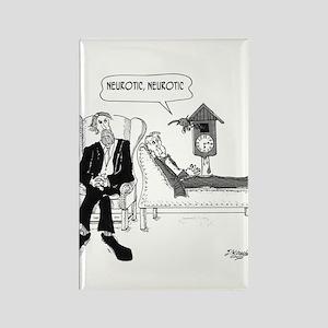 Psychiatrist Cartoon 2199 Rectangle Magnet