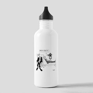Psychiatrist Cartoon 2 Stainless Water Bottle 1.0L