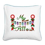 My Christmas Pillow - Square Canvas Pillow