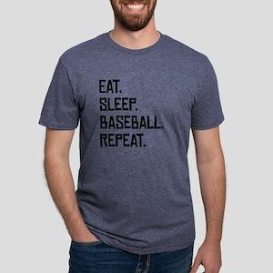 Eat Sleep Baseball Repeat T-Shirt