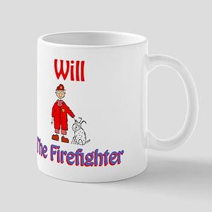 Will - Firefighter Mug