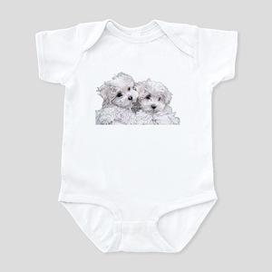 Bichon Frise Infant Bodysuit