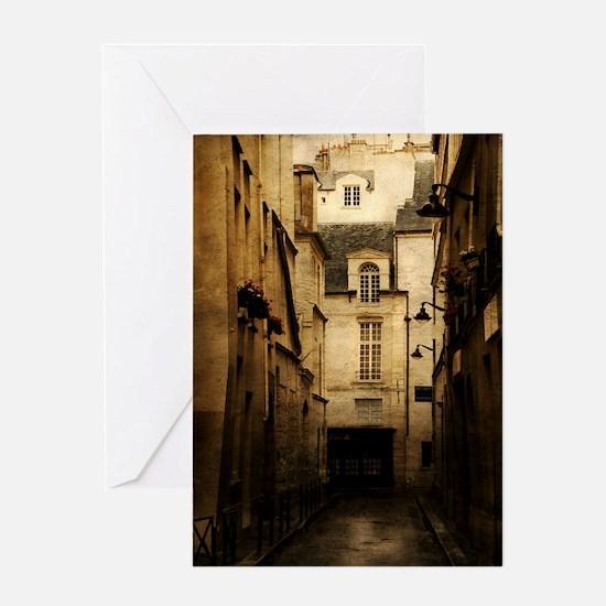 Paris - Rue des Poitevins - Greeting Card