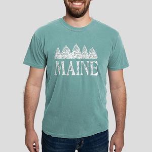 Maine Winter Evergreens T-Shirt