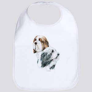 Bearded Collies, Beardie dogs Bib