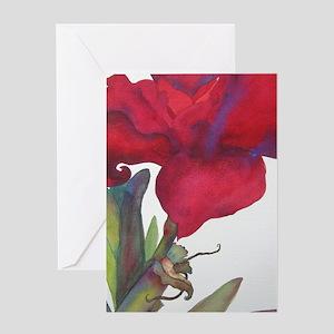 Amaryllis 2 Greeting Card