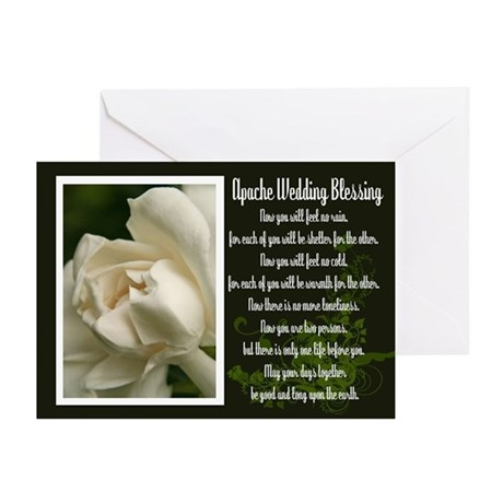Traditional Apache Wedding Blessing Greeting Cards