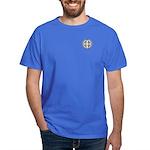 Men's Dark T-Shirt with Medal of St Benedict