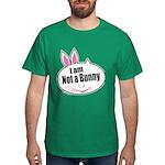 Not a Bunny Funny Dark T-Shirt
