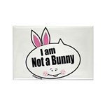 Not a Bunny Funny Rectangle Magnet (10 pack)