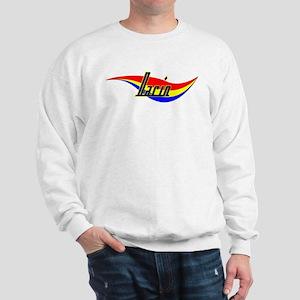 Darin's Power Swirl Name Sweatshirt