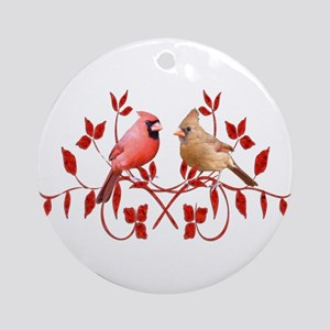 Love Birds Ornament (Round)