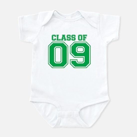 Class Of 09 (Green Varsity) Infant Bodysuit