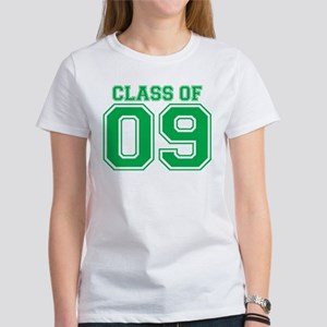 Class Of 09 (Green Varsity) Women's T-Shirt