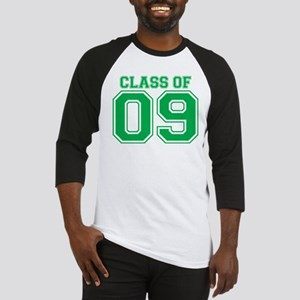 Class Of 09 (Green Varsity) Baseball Jersey
