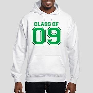 Class Of 09 (Green Varsity) Hooded Sweatshirt