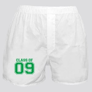 Class Of 09 (Green Varsity) Boxer Shorts
