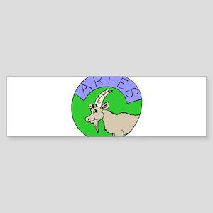 Aries Design 6 Bumper Sticker