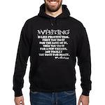 Moliere Writing Quote Hoodie (dark)