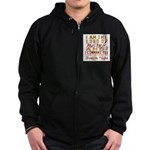 Lord of Misrule/Twelfth Night Zip Hoodie (dark)