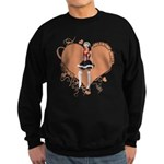 Valentine Wanted (Female) Sweatshirt (dark)