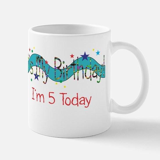 Fifth Birthday Mug