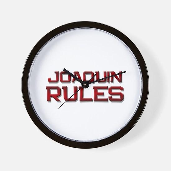 joaquin rules Wall Clock