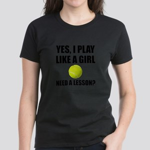 Like A Girl Tennis T-Shirt