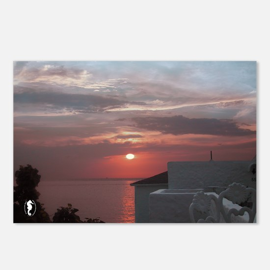 """Cozumel """"Ataraxia"""" Postcards (Package of 8)"""