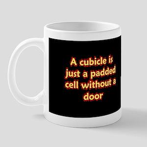 Office cubicle humor funny saying Mug