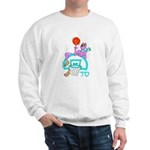 SABRA DOG(Menorah)Jewish Sweatshirt