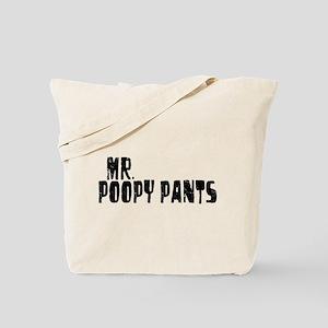 Mr. Poopy Pants Tote Bag