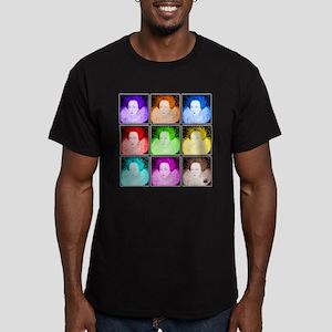 Pop Art Elizabeth I Men's Fitted T-Shirt (dark)