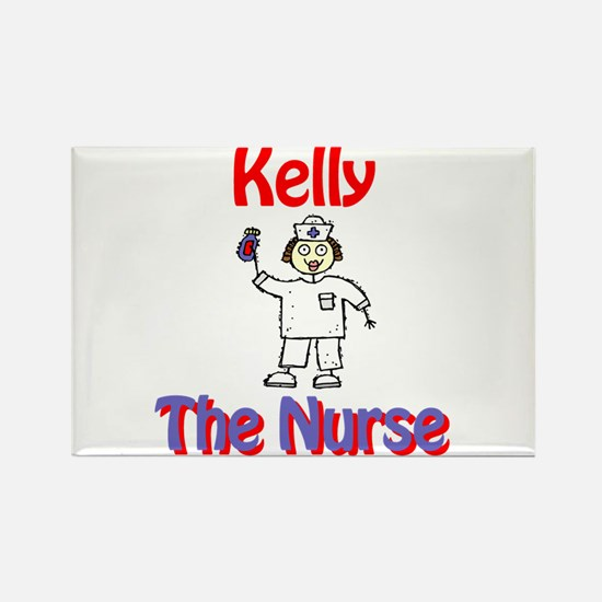 Kelly - The Nurse Rectangle Magnet