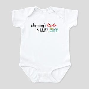 Mommy's Devil, Bubbie's Angel Infant Bodysuit