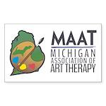 MAAT logo Sticker