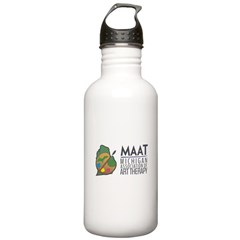 MAAT logo Water Bottle