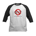 iamNOTaQuitter.com Kids Baseball Jersey