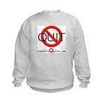 iamNOTaQuitter.com Kids Sweatshirt