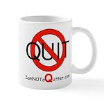iamNOTaQuitter.com Mug