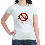 iamNOTaQuitter.com Jr. Ringer T-Shirt