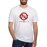 iamNOTaQuitter.com Fitted T-Shirt