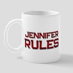 jennifer rules Mug