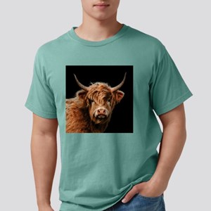 Highland Cow Portrait In Colour T-Shirt